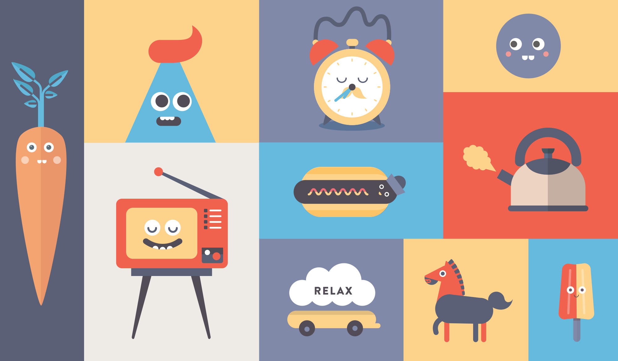 Headspace illustrations
